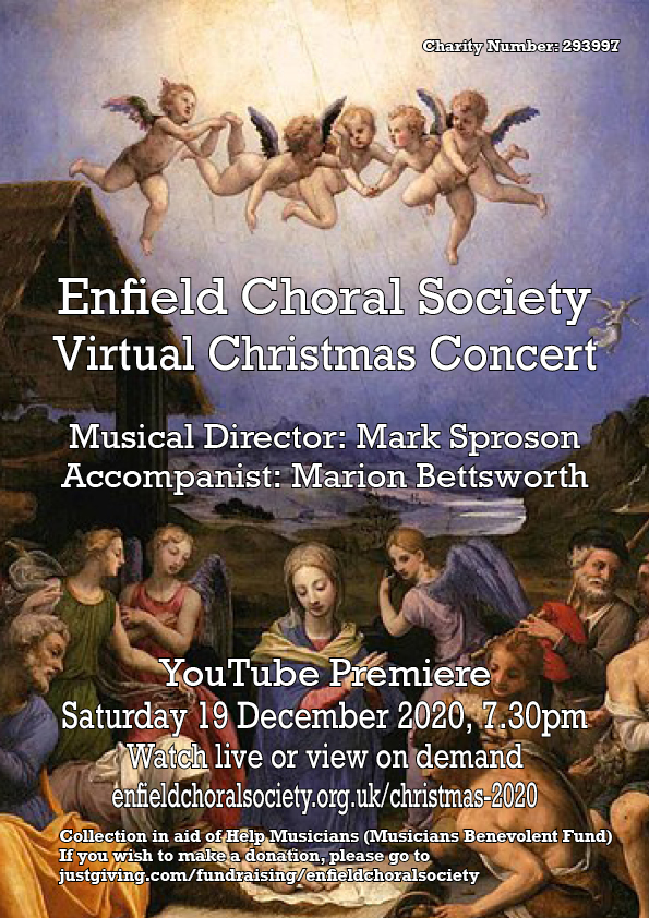 Enfield Choral Society Virtual Christmas Concert